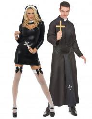 Disfraz de pareja religiosa