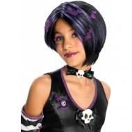 Peluca para niña Halloween