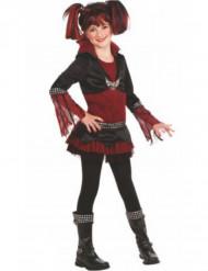 Disfraz gótico Lilith para niña