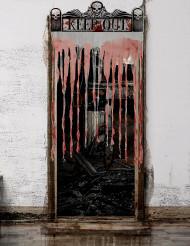 Cortina de puerta Halloween 150 x 95 cm