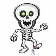 Globo Halloween esqueleto