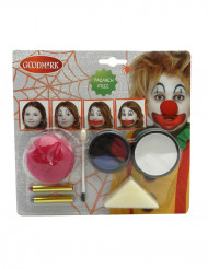 Kit de maquillaje payaso Halloween