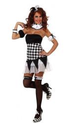 Disfraz de arlequín para mujer