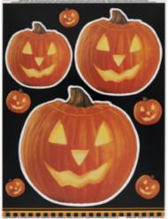 Pegatinas para ventanas calabaza Halloween
