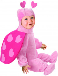 Disfraz de mariquita rosa para bebé