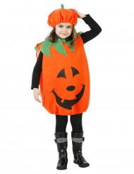 Disfraz de calabaza para niño