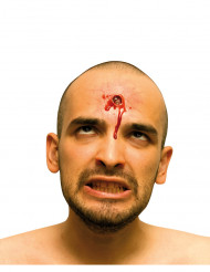 Herida falsa impacto de bala para adulto