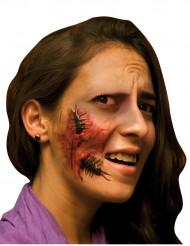 Herida falsa para la cara insecto