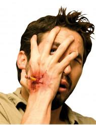 Falsa herida con lápiz