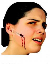 Herida falsa para la cara