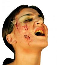 Falsas heridas en vidrio
