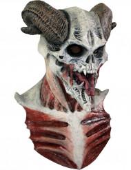 Máscara de esqueleto diabólico