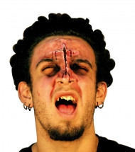 Herida falsa para cara