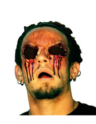Falsa herida sin ojos Halloween