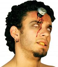 Herida falsa con clavo