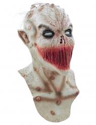 Máscara boca cosida halloween