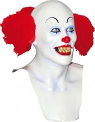 Máscara de payaso blanco Halloween