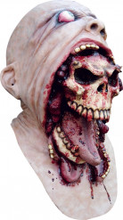 Máscara de calavera sangrienta adulto Halloween