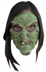 Máscara de bruja maléfica adulto Halloween
