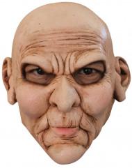 Máscara de rostro enfadado adulto Halloween