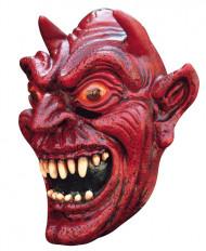 Máscara de demonio rojo