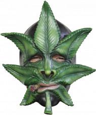 Máscara de hoja de canabis adulto