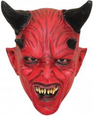 Máscara diablo rojo niño Halloween