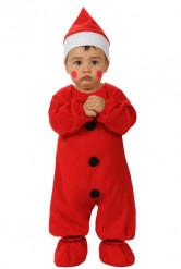Disfraz Papa Noel para bebé