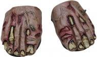 Cubre botas de zombie Halloween
