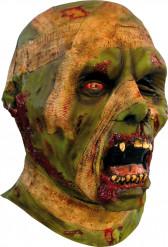 Máscara de momia verde Halloween
