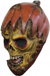 Máscara de calabaza monstruosa
