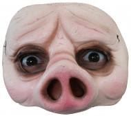 Semi máscara de cerdo adulto