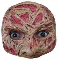 Semi máscara cara quemada adulto