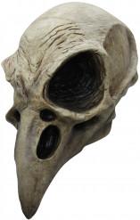 Máscara de esqueleto de pájaro
