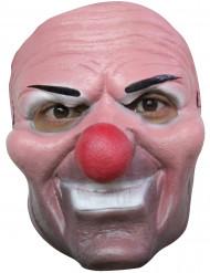 Máscara de payaso asesino para adulto Halloween
