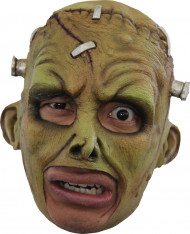 Máscara de monstruo verde adulto Halloween