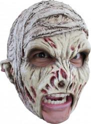 Máscara de momia asustadiza adulto Halloween