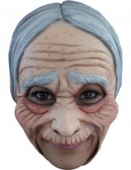 Máscara de mujer vieja Halloween