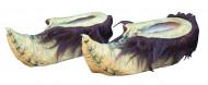 Zapatos de duende verde adulto Halloween
