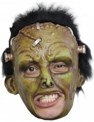 Máscara de monstruo verde para adulto Halloween