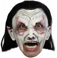 Máscara de vampiro blanco adulto Halloween