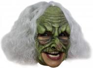 Máscara de bruja verde Halloween