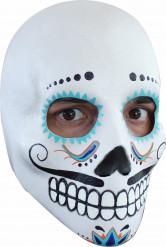 Máscara de rostro blanco hombre Halloween