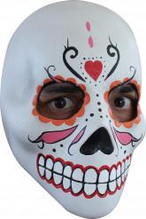 Máscara blanca para mujer Halloween