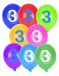 8 globos número 3