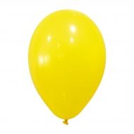 24 globos de color amarillo 25 cm