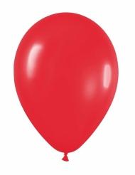 24 globos de color rojo de 25 cm