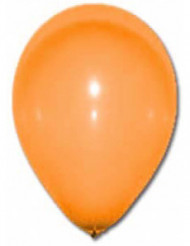 12 globos de color naranja 28 cm