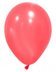 12 globos de color rojo 28 cm