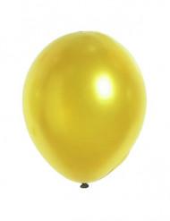 12 Globos dorados metálizados 28 cm